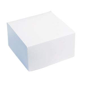 Scatola pasticceria bianca. 18x18 x h 8 cm-0