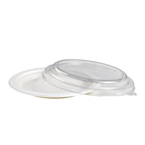 Piattino rotondo in polpa da dessert diametro 15 cm-0