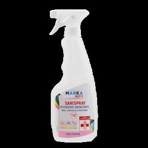 SANISPRAY detergente igienizzante Mani e Dispositivi di Protezione Alcool al 75%-0
