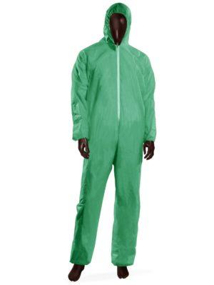 Tuta monouso HOOD 40 -XL-Verde-0