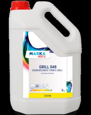 GRILL 048 DISINCROSTANTE FORNI E GRILL per grassi carbonizzati HACCP-5 kg-0