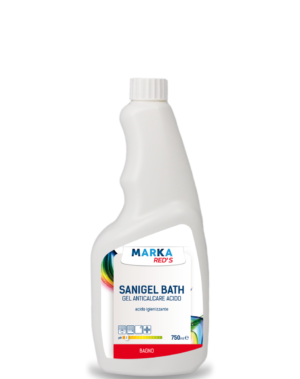 SANIGEL BATH GEL anticalcare acido igienizzante HACCP-0