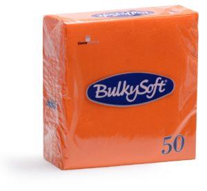 TOVAGLIOLI 33X33 2 VELI Colorati 50 Pz Arancio-0