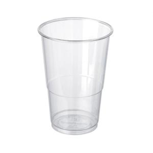 Bicchiere in PLA trasparente da 280 ml-0